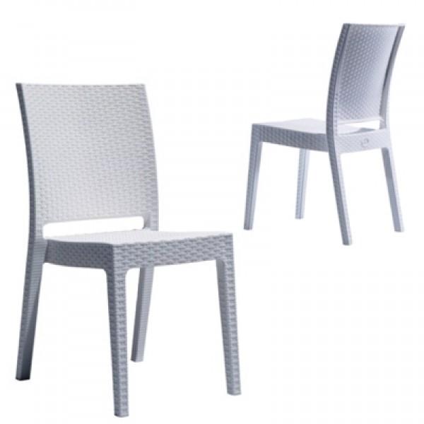 SMS 002 - Rattan Efektli Sandalye